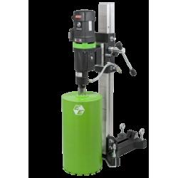 Carotteuse portable diam. max 150mm - 220V + pompe à eau